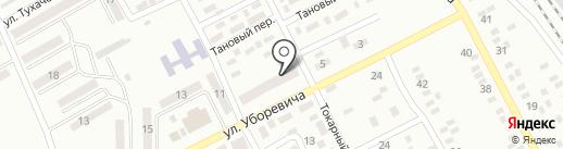 Продовольственный магазин на ул. Уборевича на карте Макеевки