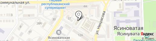 Дарина, студия красоты на карте Ясиноватой