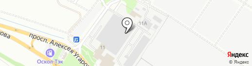 Торгово-производственная фирма на карте Старого Оскола