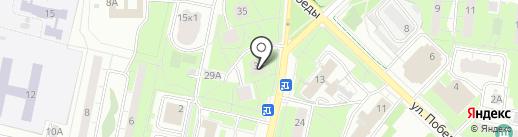 Магазин постельного белья и текстиля на карте Реутова