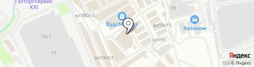 Дома ЛСТК на карте Реутова