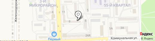 Лекарь на карте Ясиноватой
