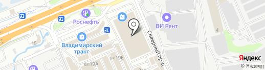 РУС-Теплица на карте Реутова