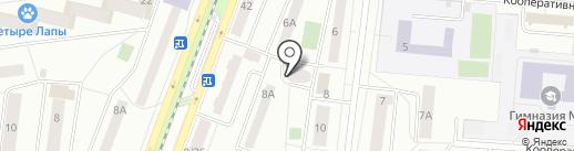СИМБА на карте Королёва