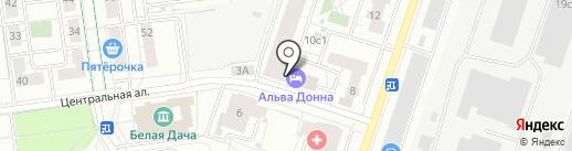 Эрус на карте Котельников