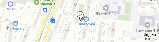 Красное & Белое на карте Королёва