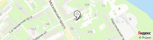 Краеведческий музей г. Пушкино на карте Пушкино
