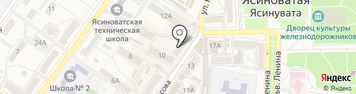 Банкомат, Райффайзен Банк Аваль, ПАО на карте Ясиноватой