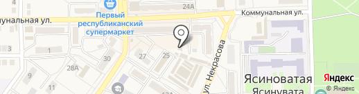 Шкафы-купе+, мебельный салон на карте Ясиноватой
