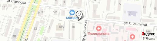 Магазин товаров для творчества и рукоделия на карте Королёва