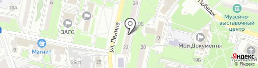 Столички на карте Реутова