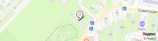 Магазин фруктов и овощей на Советской на карте Реутова