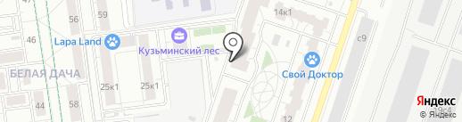 Абшерон на карте Котельников
