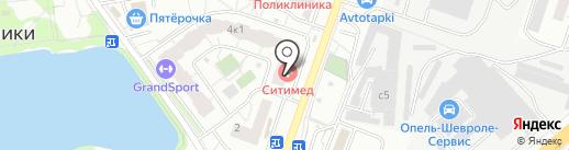 ТК Лидер на карте Котельников