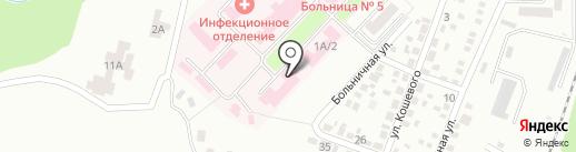Центр первичной медико-санитарной помощи №5 на карте Макеевки