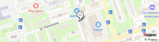 Глория на карте Реутова