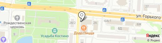 Королевство мебели на карте Королёва