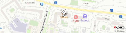 United-Shop на карте Дзержинского