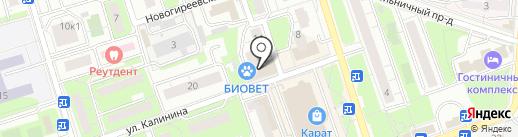 МясновЪ на карте Реутова