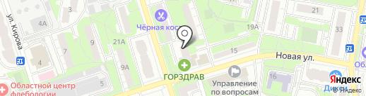 Главное управление Государственного административно-технического надзора Московской области на карте Реутова