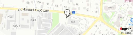 Альтпроект на карте Пушкино