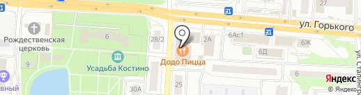 Интимити на карте Королёва