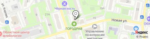ИНВИТРО на карте Реутова