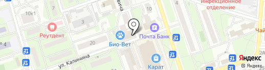 Кондитерский магазин на карте Реутова