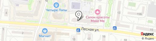 Цвет-нота на карте Дзержинского
