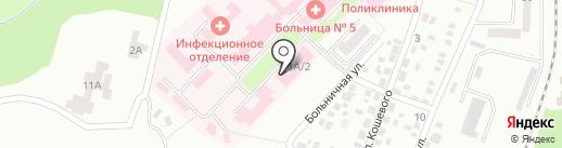 Территориальный центр социального обслуживания (предоставления социальных услуг) Червоногвардейского района г. Макеевки на карте Макеевки