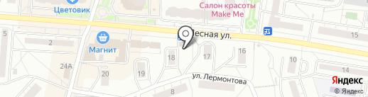 Малышок на карте Дзержинского