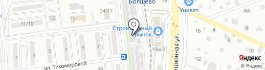 Караван на карте Юбилейного