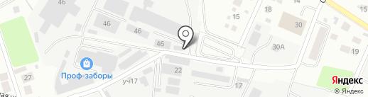 У Топаза на карте Пушкино