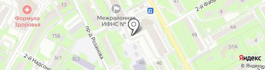 Центр налоговой консультации на карте Пушкино