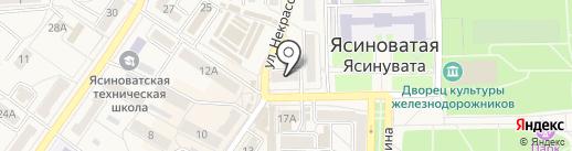 Янус на карте Ясиноватой