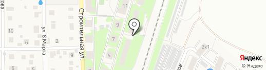 Крылова на карте Пушкино