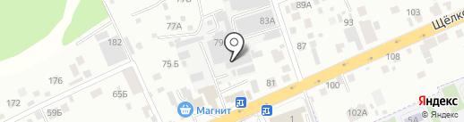 Сигма-Тех на карте Балашихи