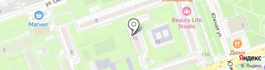 Парус на карте Реутова