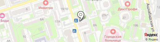 Аптека на карте Реутова