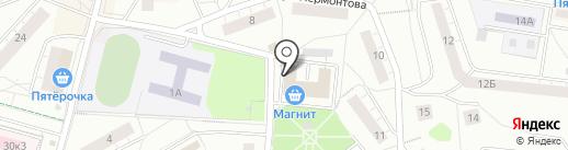 Мастерская по изготовлению ключей на карте Дзержинского