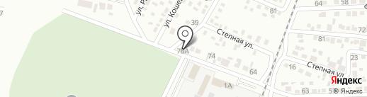 Продуктовый магазин на Геологической на карте Макеевки