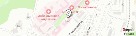 Облсервис на карте Макеевки