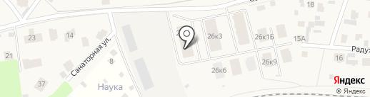 ГОРОД`ОК на карте Лесных Полян