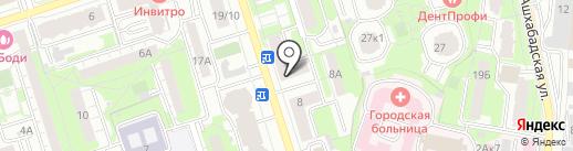 Ермолино на карте Реутова