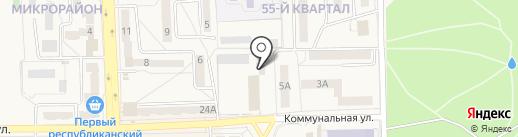 Таша на карте Ясиноватой
