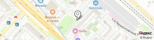 Face-Off на карте Люберец