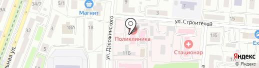 Поликлиника №2 на карте Королёва