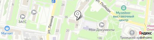 Климавент на карте Реутова