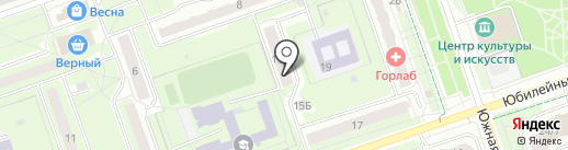 Мособлмедсервис, ГБУ на карте Реутова