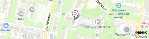 Реут-Безопасность на карте Реутова